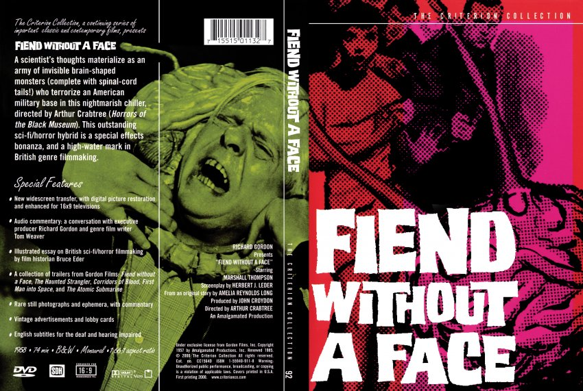 Fiend Without A Face Movie DVD Scanned Covers 1283fiend without a ...