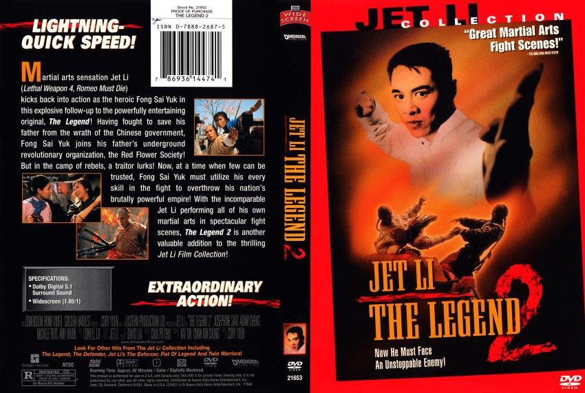 The Legend 2 (Jet Li) - Movie DVD Scanned Covers - 1322Legend 2 ...