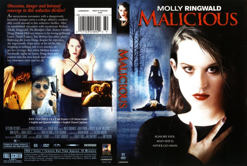 Malicious - Movie DVD Scanned Covers - 1322Malicious ...