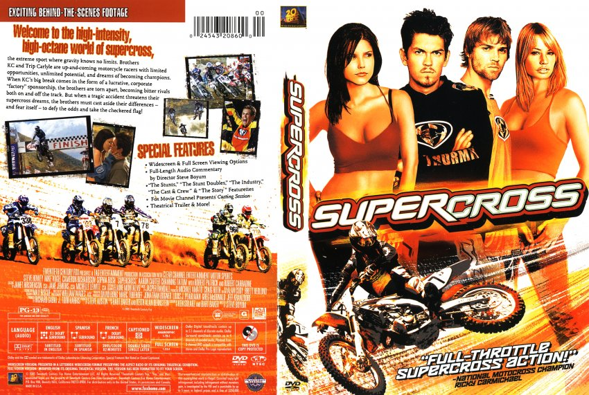 Supercross - Movie DVD Scanned Covers - 1322Supercross ...