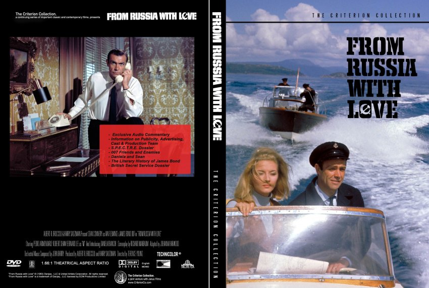 From Russia With Love Criterion - Movie DVD Scanned Covers ...