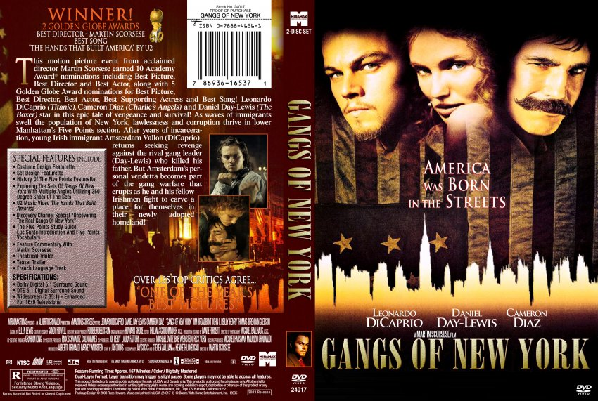 history of immigration movie gangs of new york essay