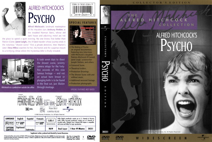 psycho alternate bampw cover movie dvd scanned covers