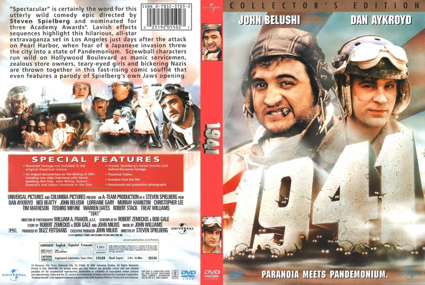 1941 (Collectors Edition) - Movie DVD Scanned Covers ...