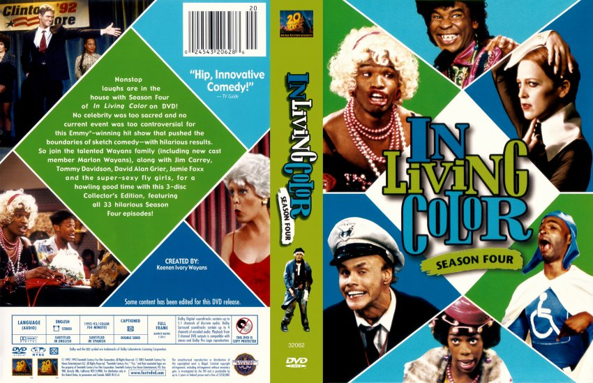 In Living Color Season Four - Movie DVD Scanned Covers ...