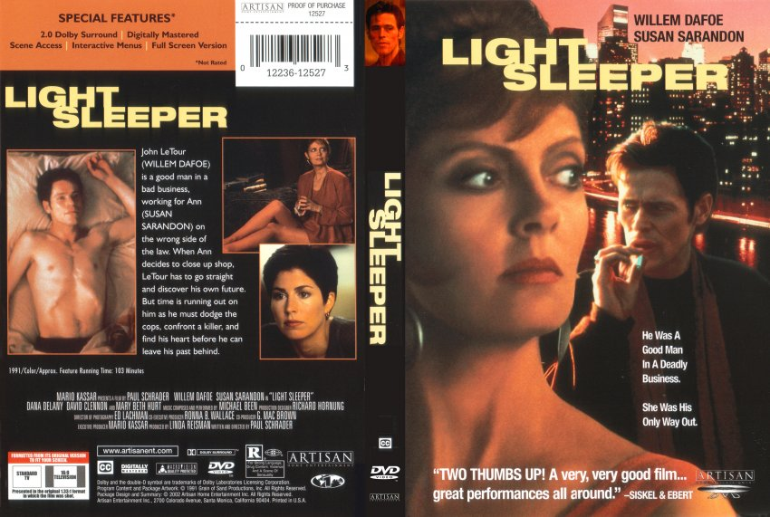 light sleeper movie dvd scanned covers 1560light