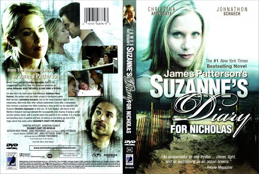 suzannes diary for nicholas movie dvd scanned covers