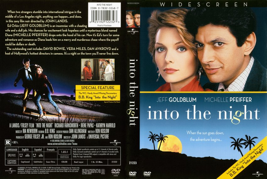 into the night movie dvd scanned covers 1565into the
