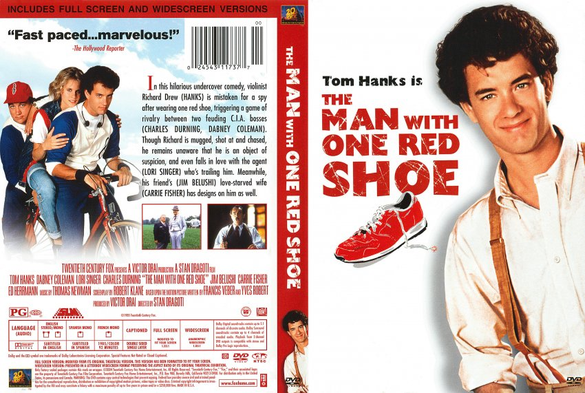 The Man With One Red Shoe Tom Hanks Movie