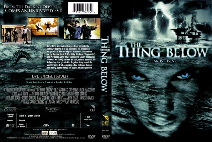 The Thing Below Movie Dvd Scanned Covers 15the Thing
