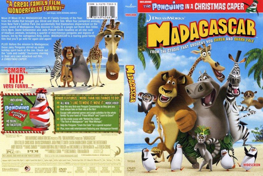 madagascar dvd 2005 widescreen - photo #24