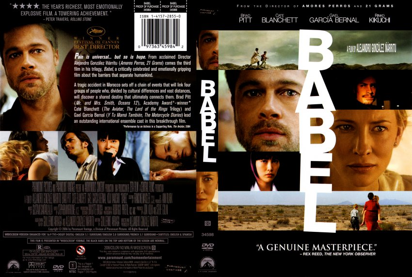babel movie review Babel is a tough movie to pin down because though it's not really about anything interesting, it has a lot happening in it the film's series of half-stories are all.