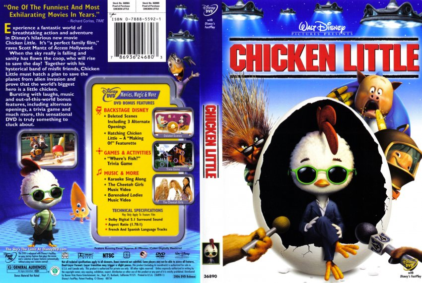 Chicken Little Movie Dvd | www.imgkid.com - The Image Kid ...