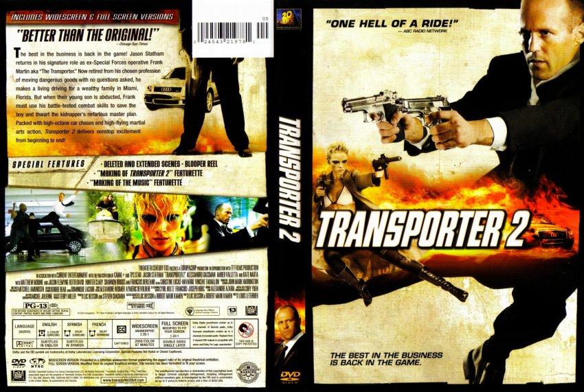 Transporter 3 (2008) R2 German DVD Cover & Label ... |Transporter 2 Dvd Cover