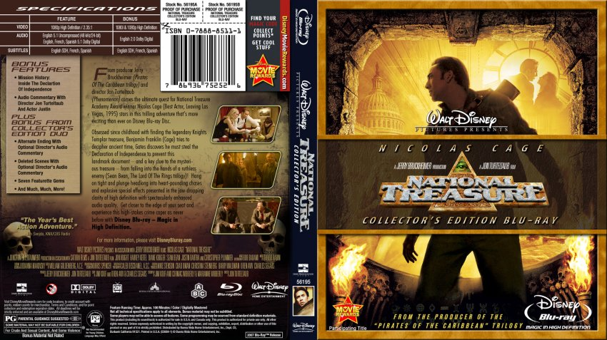 National treasure 3 release date