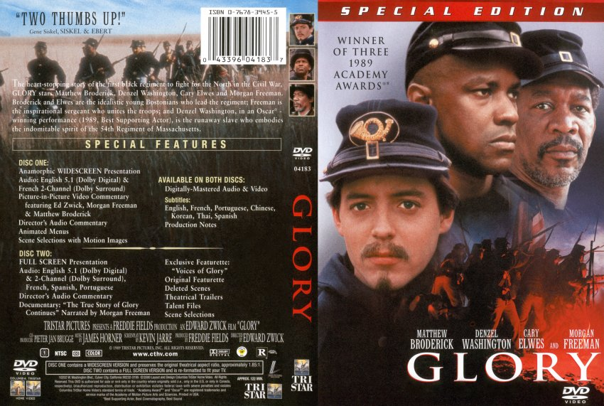 glory movie dvd scanned covers 21116 glory dvd covers