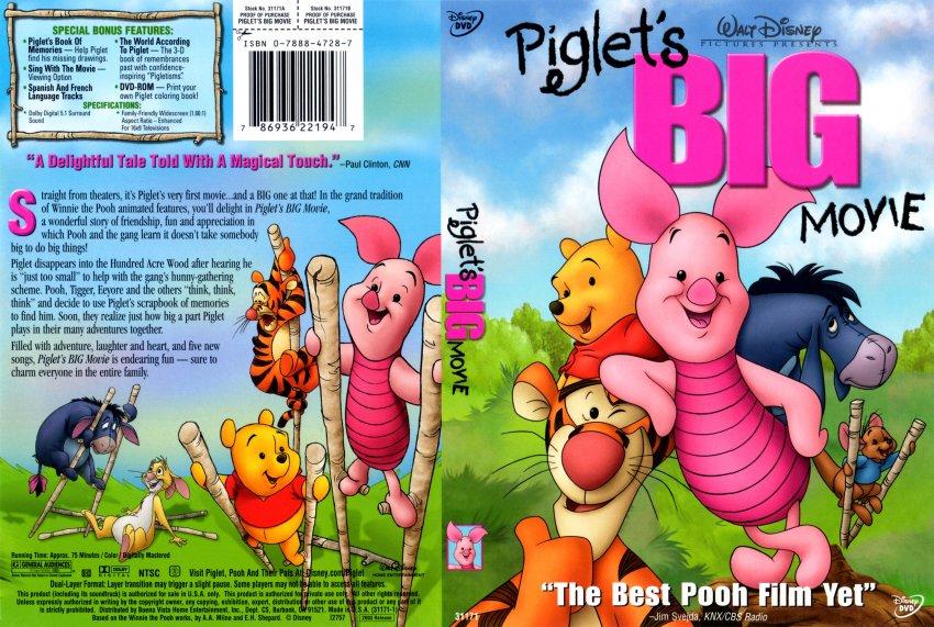 Piglet 39 s Big Movie DVD