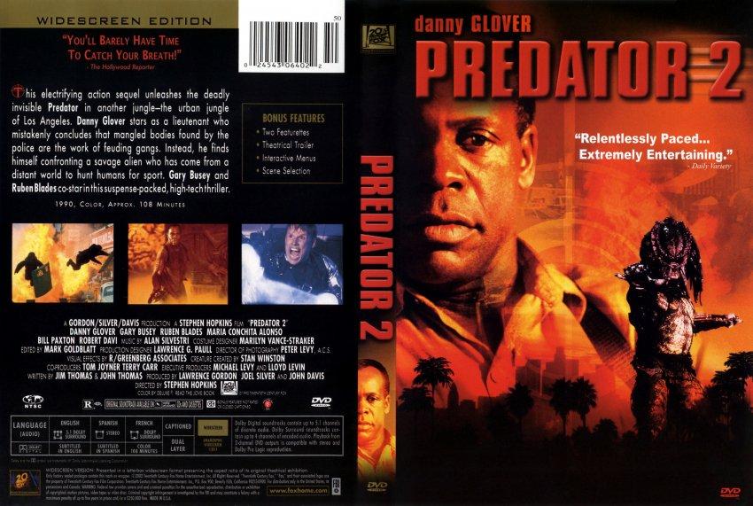Movie Poster avp movie poster : predator 2 - Movie DVD Scanned Covers - 211Predator 2 ...