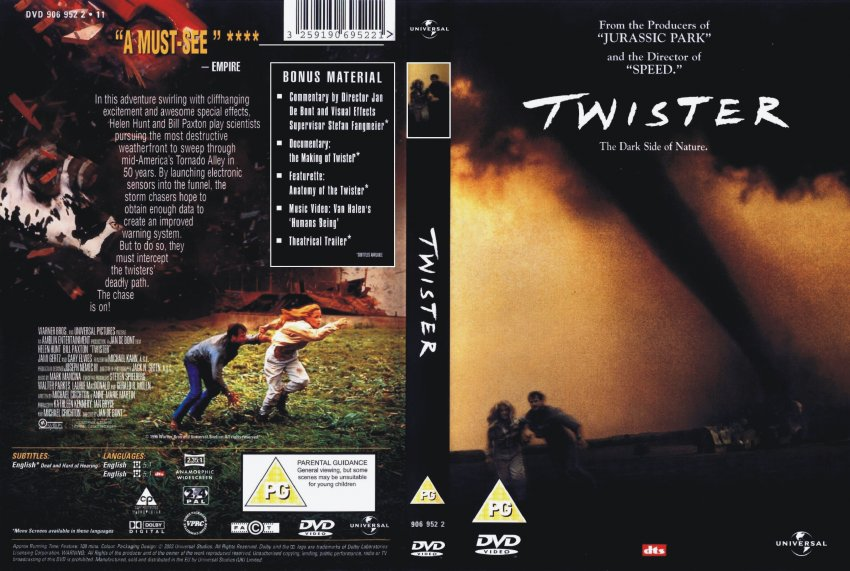 twister movie dvd scanned covers 211twister dvd covers