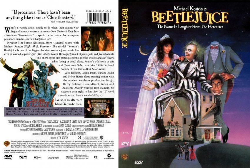 Beetlejuice DVD: DVDs & Blu-ray Discs | eBay