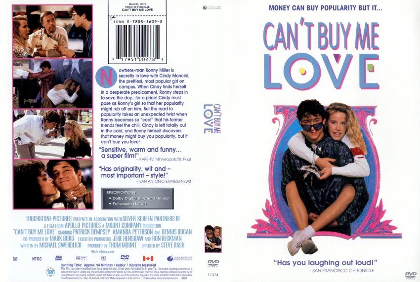 Cant Buy Me Love Movie Can t buy me love