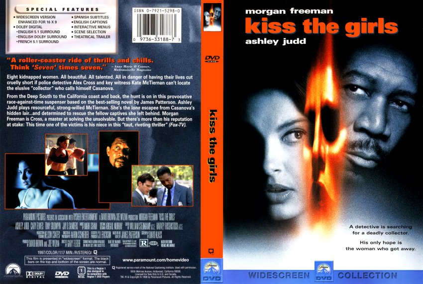 Kiss The Girls Movie Dvd Scanned Covers