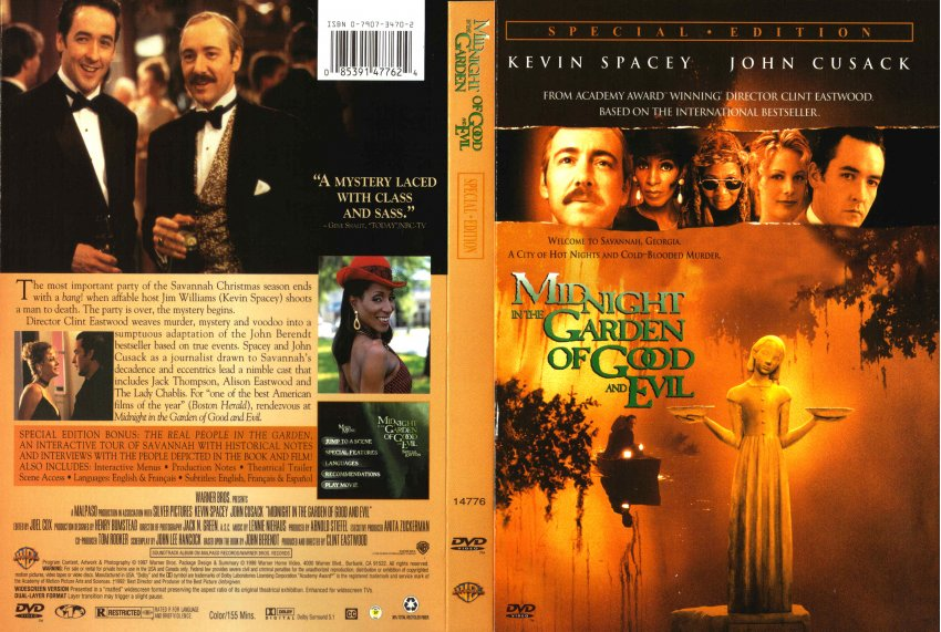 Midnight in the garden of good and evil movie dvd scanned covers 211midnightgarden hires In the garden of good and evil movie