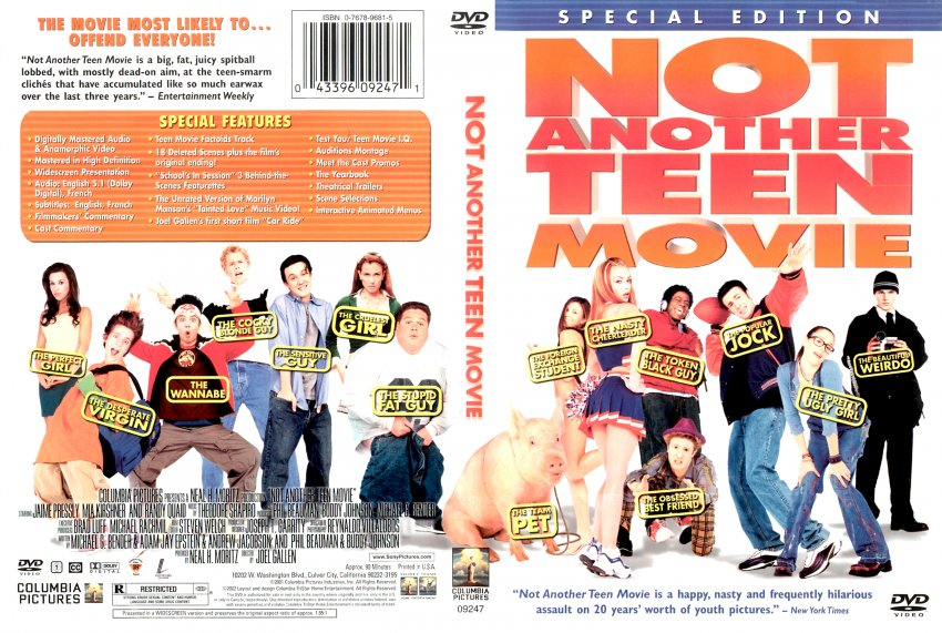 Not Another Teen Movie Blu Ray 105