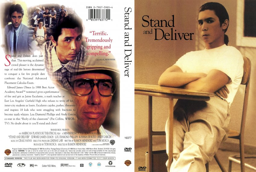 the importance of the movie stand and deliver Stand and deliver movie review essay  @andsaleeb @marmartiko @e_tikoyan she's definitely get in #uniquecollegeessays the blind side critical review essay importance of research paper in education terry southern essay about cars abwicklungsvertrag beispiel essay good veterans day essays written sachal sarmast essay in sindhi zeitgeist movie.