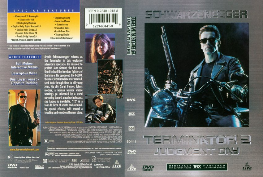 COVERS.BOX.SK  |The Terminator 2 Cover