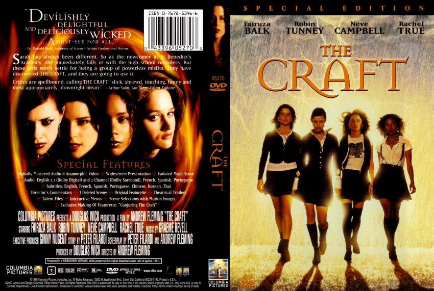 Book Cover Craft Cover : The craft movie dvd scanned covers thecraft hires