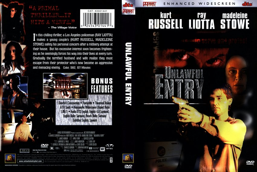 unlawful entry - Movie DVD Scanned Covers - 211unlawful ...