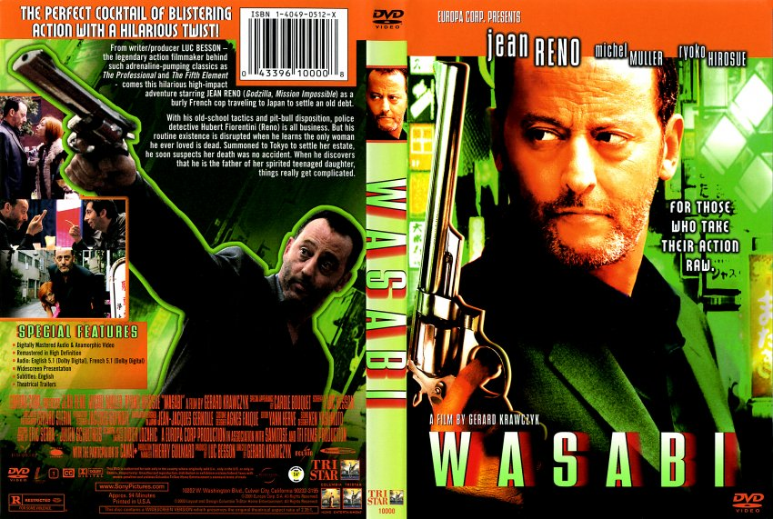 wasabi - Movie DVD Scanned Covers - 211wasabi hires :: DVD ...