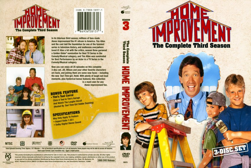 Outstanding Home Improvement Season 3 DVD Cover 850 x 571 · 153 kB · jpeg