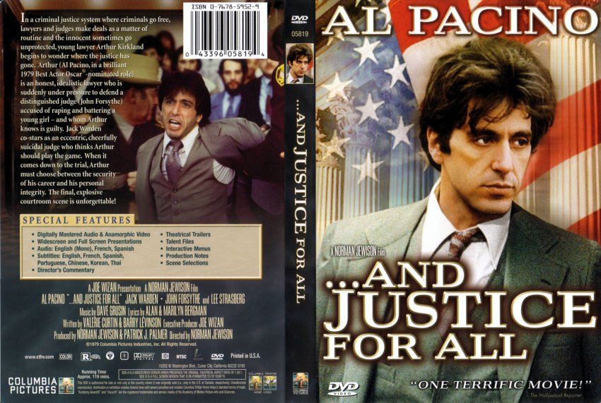 and justice for all - ... Al Pacino Movies
