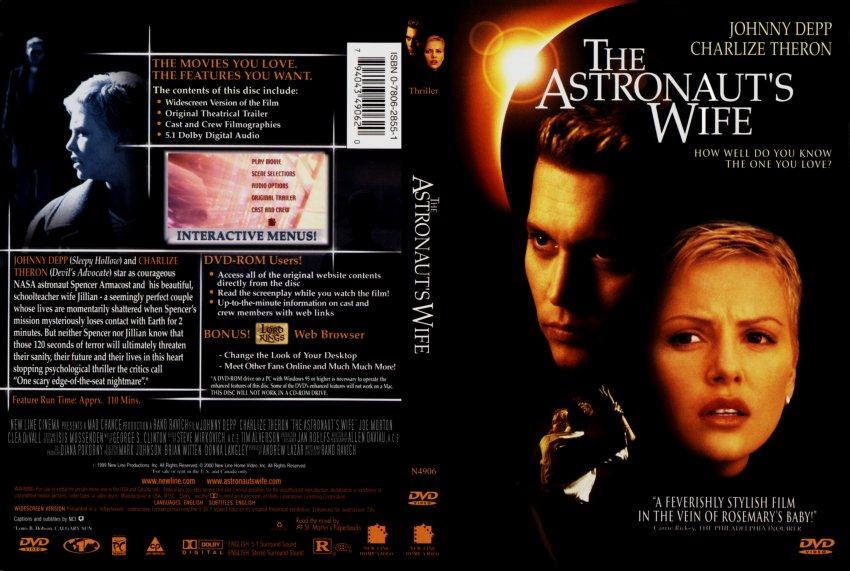 the astronauts wife - Movie DVD Scanned Covers ...