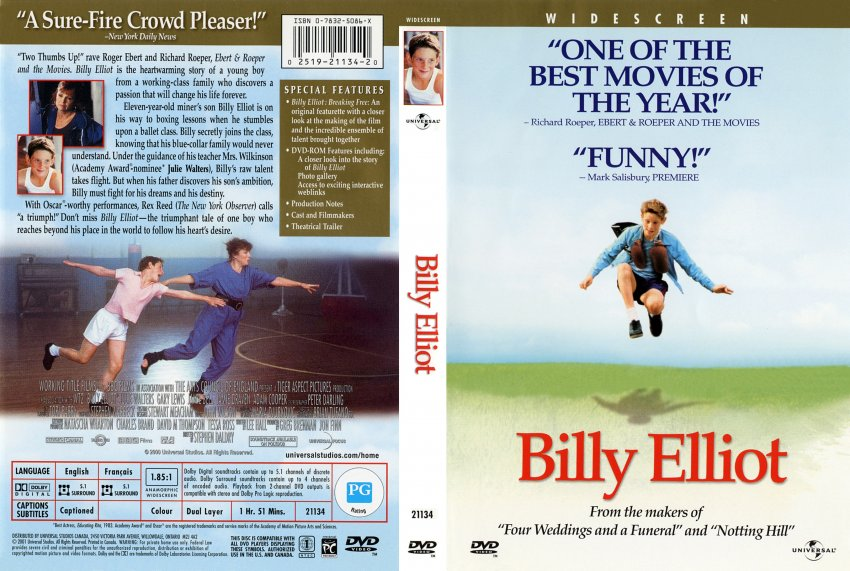 into the world speech billy elliot