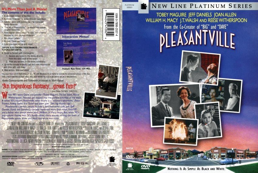 Journeys pleasantville and 10 things i
