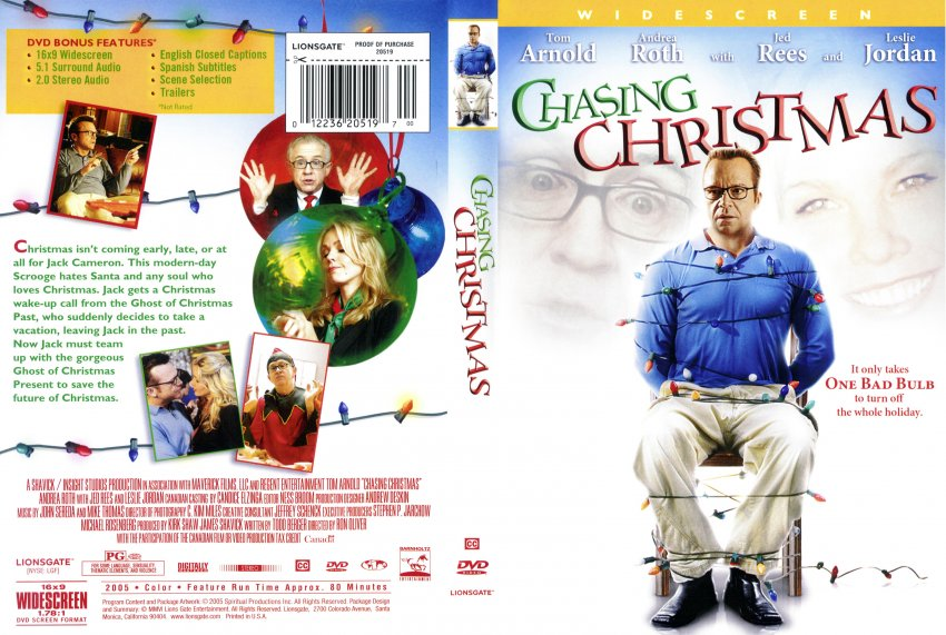 Chasing Christmas.Chasing Christmas Movie Dvd Scanned Covers 2257chasing