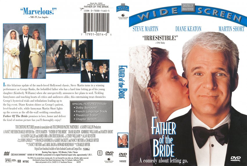 Image result for father of the bride dvd