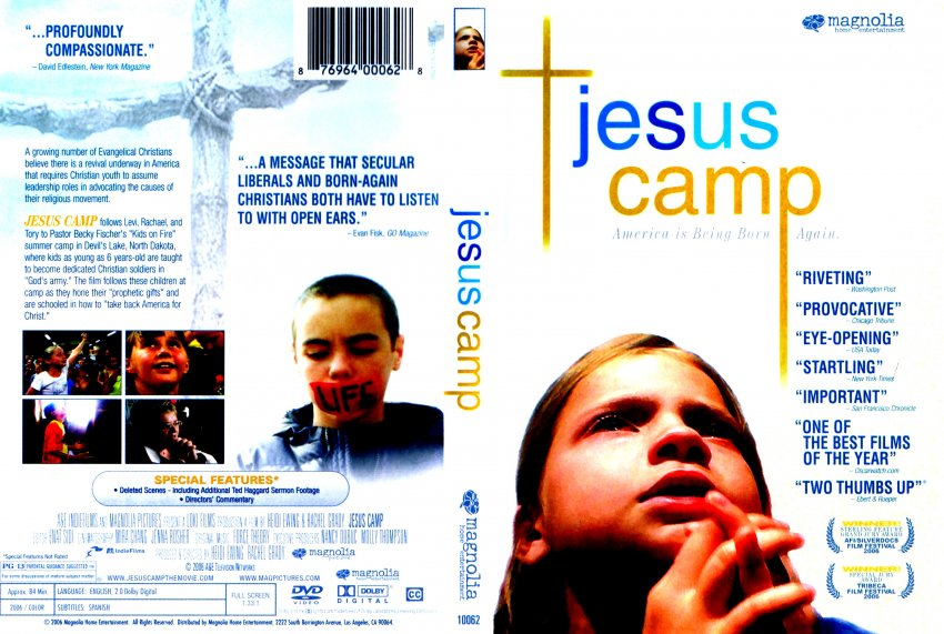 sociology jesus camp View essay - essay on jesus camp documentary from socl 313 at christopher newport university tia sydnor feb 20, 2014 soc religion jesus camp extra credit i learned quite a few interesting facts.