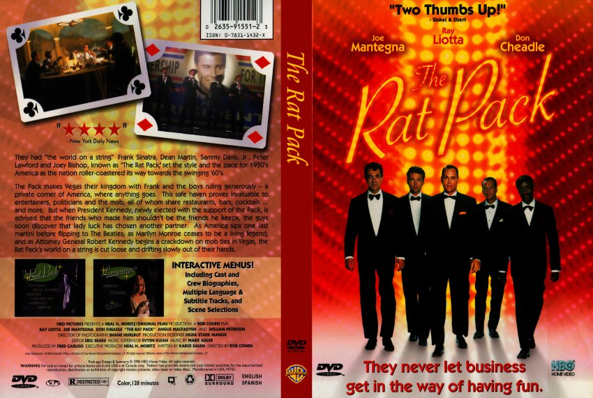 the rat pack movie dvd scanned covers 249the rat pack dvd covers. Black Bedroom Furniture Sets. Home Design Ideas