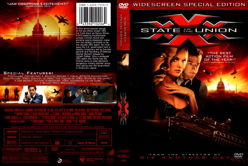 Xxx State Of The Union Dvd 50