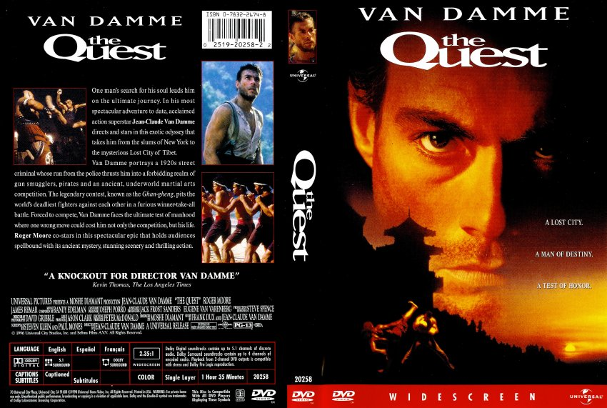 The Quest - Movie DVD Scanned Covers - 262scan00531 :: DVD Covers: www.dvd-covers.org/art/DVD_Covers/Movie_DVD_Scanned_Covers...