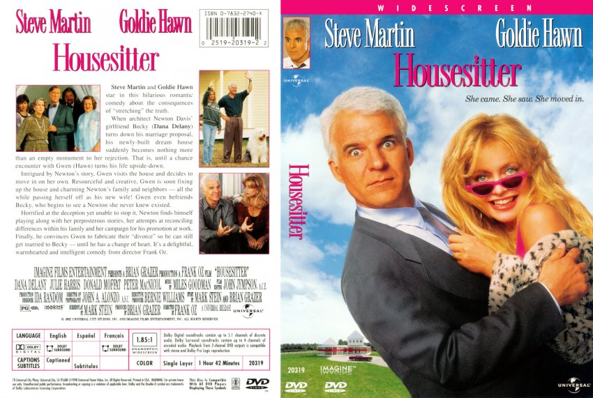 Housesitter Scan - Movie DVD Scanned Covers ...