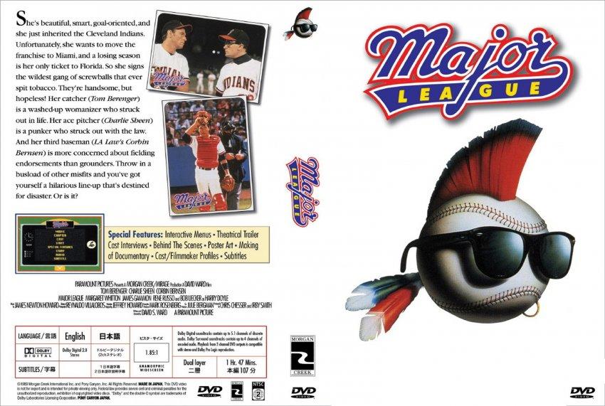 Major League Movie Major League 1 Scan