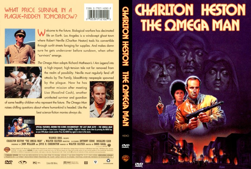 Omega Man DVD Movie Covers