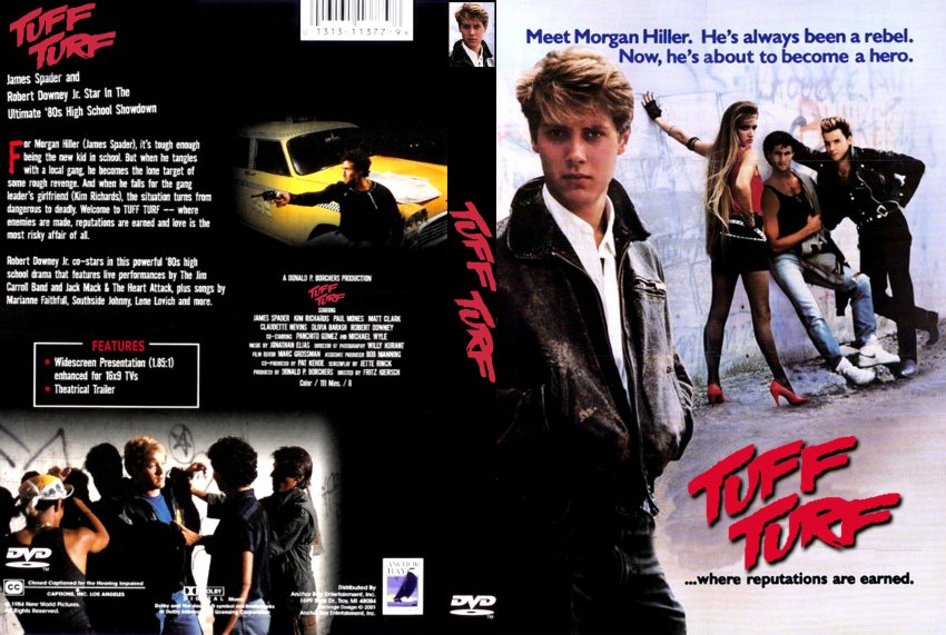 tuff turf movie dvd scanned covers 268tuff turf custom dvd covers. Black Bedroom Furniture Sets. Home Design Ideas