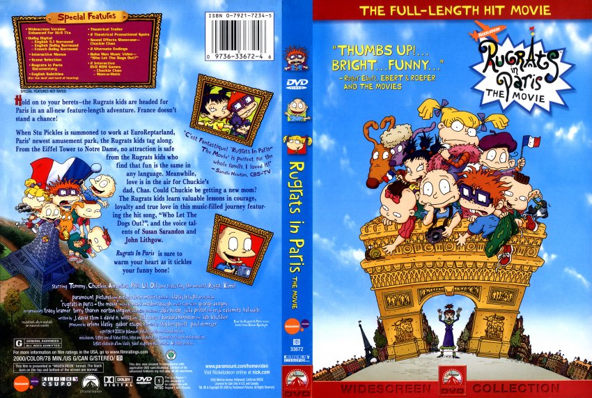 Rugrats in paris date 02 07 2004 next last first previous