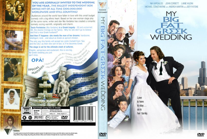 movie reflection my big fat greek wedding A study guide to my big fat greek wedding  this film is an interesting and humorous presentation of a sub-culture within the united states the heroine tries to.
